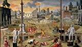 Antoine Caron – The Massacre of The Triumvirate by