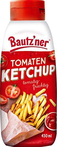 BAUTZ'NER Tomaten Ketchup, 8er Pack (8 x 450 ml)