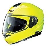 NOLAN Casco N104 EVO-Hi VISIBILITY N-COM-M, fluorescente, colore: giallo