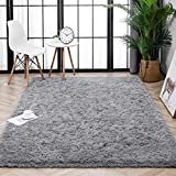 Lnoice Soft Fluffy Large Area Rugs for Bedroom, Indoor Grip Backing Living Room Shaggy...