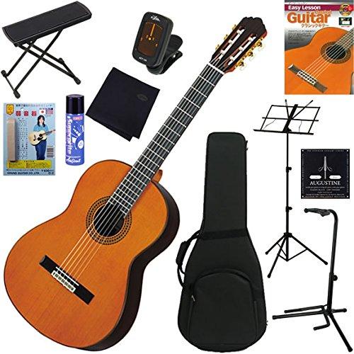 YAMAHA クラシックギター 初心者 入門 オール単板(杉)モデル 完璧11点セット GC22C