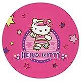 Cojín Cojín de Asiento de Espuma viscoelástica Redondo Rosa Hello Kitty (2) Cojín súper Acogedor Cojín Suave para Interior