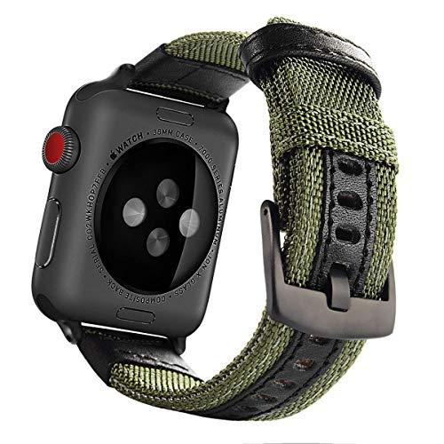 Vanctec cinturino di ricambio per Apple Watch–nylon iWatch cinghia