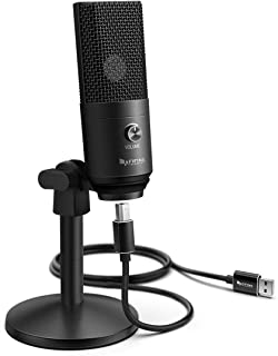 USB Microphone,Fifine PC Microphone for Mac and Windows Computers,Optimized for Recording,Streaming Twitch,Voice Overs,Pod...