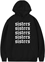 Vchat Women's James-Charles Sisters Pullover Hoodies Long Sleeve Hooded Sweatshirt
