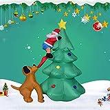 Navidad Decoraciones inflables Decoración al aire libre de la Navidad, 6FEET / 1,8M Alto Inflable Pa...