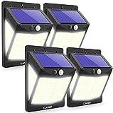 Solar Lights Motion Sensor Lights Outdoor [140 LED/3 Modes], CLAONER Solar Powered Security