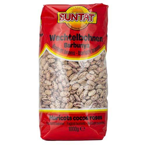 Suntat - Wachtelbohnen oder Pintobohnen (getrocknet) in 1 kg Packung