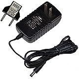 HQRP AC Adapter for ProForm 385 CSX Bike PFEX718080 / PFEX718081 / 210 CSX Bike PFEX724110 / PFEX724111 Power Supply Cord Plus Euro Plug Adapter