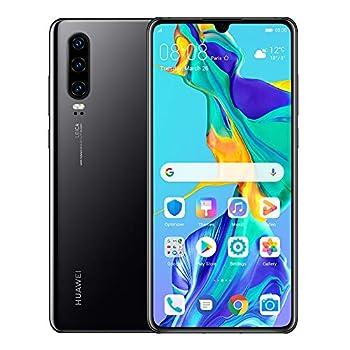 Huawei P30 128GB+6GB RAM  ELE-L29  6.1  LTE Factory Unlocked GSM Smartphone  International Version   Black