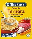 Gallina Blanca Sopa de Ternera con Estrellitas, 74g