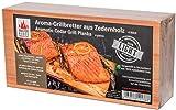 "Masterpiece ""light SIX"" - 6 Aroma Grillbretter aus Zedernholz, 12 mm stark, Grillplanke Premium Qualität, Set á 6 Stk, Maße: 145 x 295 mm, BBQ Räucherbretter im günstigen 6er Pack"