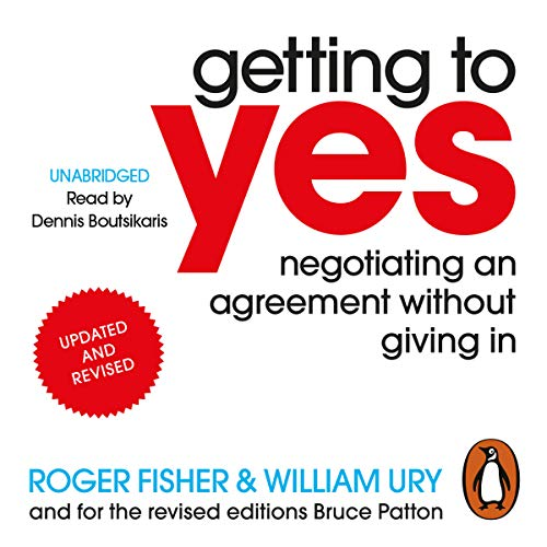 Getting to Yes audiobook cover art