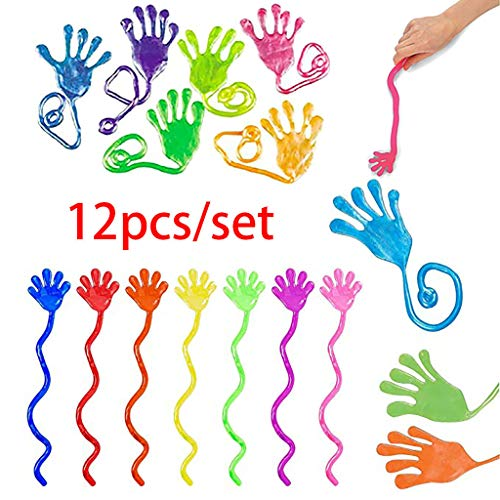 Check Out This Ikevan 12 x Sticky Palm Toy Kids Sticky Hands Palm Party Favor Toys Novelties Prizes ...