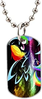 My Little Pony DIY Custom Photo Oval Dog Tag Dimensions: 1.2 x 2 X 0.1 inches with 30