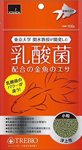 トレビオ 乳酸菌配合の金魚のエサ 100g