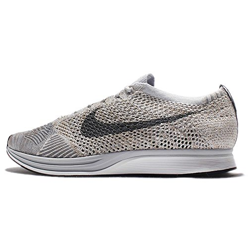 Nike Flyknit Racer Pure Platinum - Pure Platinum/Cool Grey-White Trainer Size 7 UK