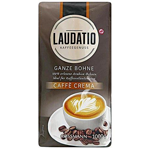 Laudatio ganze Bohne Caffè Crema 100% Röstkaffee 1 kg