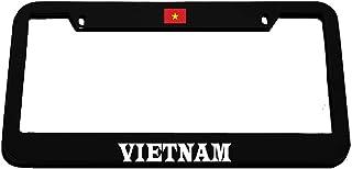 PROUD BE VIETNAMESE VIETNAM Metal License Plate Frame Tag Holder
