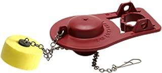 Fluidmaster 5051 Universal Water Saving Long Life Toilet Flapper, Red