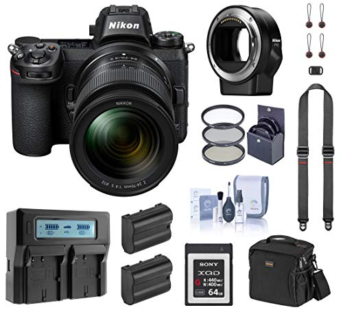 Nikon Z7 FX-Format Mirrorless Digital Camera with...