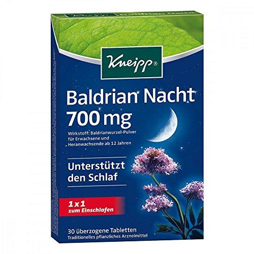 KNEIPP Baldrian Nacht überzogene Tabletten 30 St