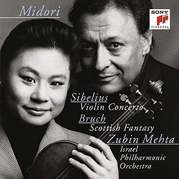 Sibelius: Violin Concerto, Op. 47 & Bruch: Scottish Fantasy, Op. 46