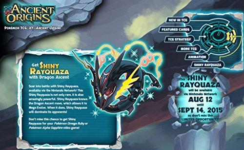 Shiny Rayquaza Event Pokemon