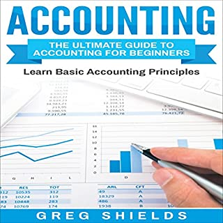 Accounting: The Ultimate Guide to Accounting for Beginners audiobook cover art