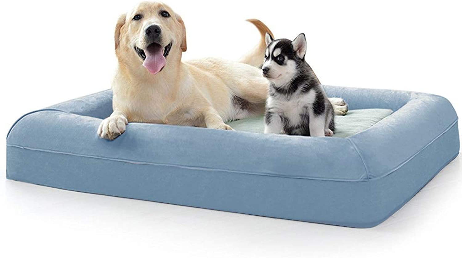 BG ARTTEX Orthopedic Memory Foam Dog Bed,Pet Sofa,Durable Removable Dog Cover