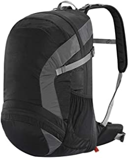 Outdoor Travel Hiking Bag Men and Women Waterproof Shoulder Hiking Boarding backpack Annacboy (Color : Black)