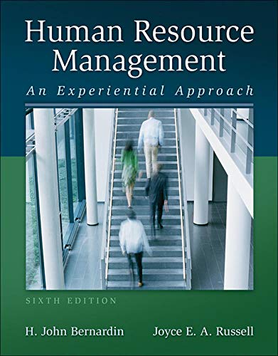 Compare Textbook Prices for Human Resource Management with Premium Content Access Card Package 6 Edition ISBN 9780077602963 by Bernardin, H. John