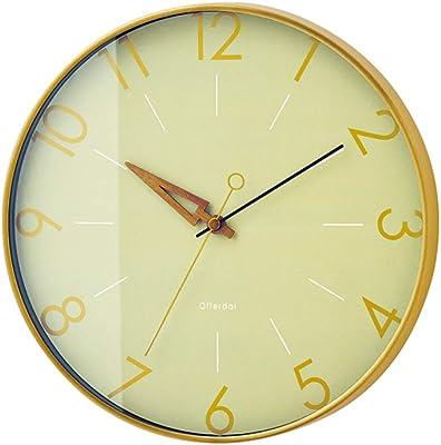 インターフォルム 掛け時計 ネイビー 直径28.5×奥行4.5cm トゥリス Trys CL-3849NV