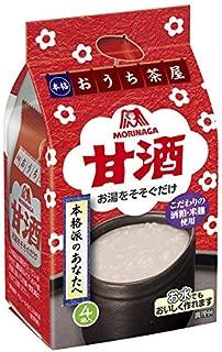 MORINAGA Amazake Sweet Japanese drink made from fermented rice Sake Kasu