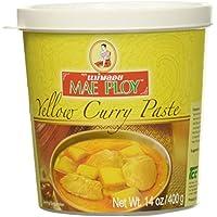 Mae Ploy Yellow Curry Paste 400 gramos - Pasta Curry Especias Amarilla