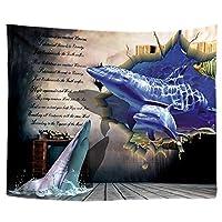 ヒッピータペストリータピス壁の装飾タペストリー壁掛け絨毯ハンギング秋の森ストリーム景観タペストリー3Dマンダラウォール (Color : A9 079E, Size : 180X230CM)