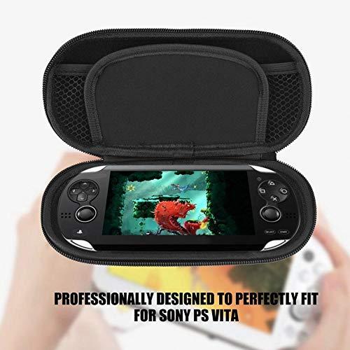 Redxiao Bolsa, organizador, estojo de transporte, ativo para Sony Playstation Vita para Sony PS Vita (vermelho)