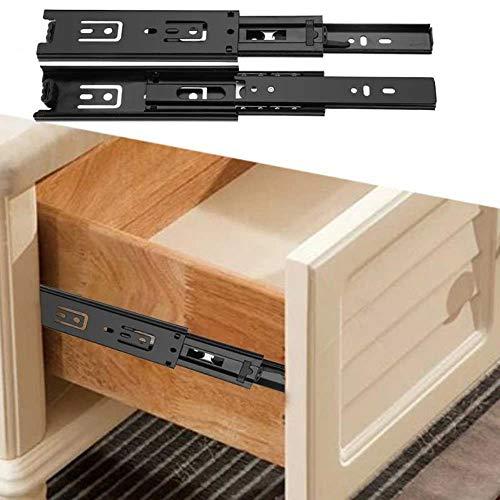 Tings 2 StkspartijKorte Lade Dia's Volledige Uitbreiding Geleiderail Voor Huis Keuken Ladekast Meubels Hardware Set accessoires, 10cm