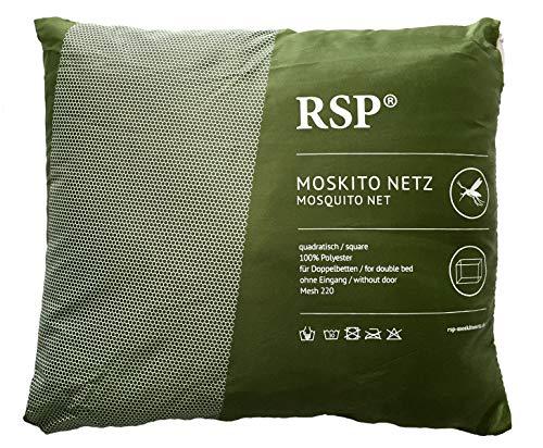 RSP Moskitonetz Box ohne Eingang grün + 4 Haken und 8 Klebestreifen