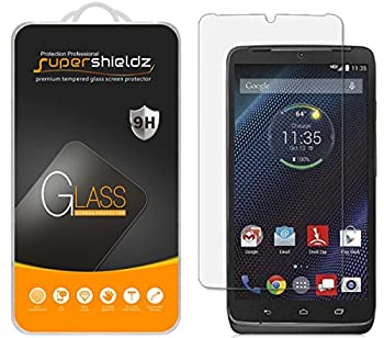 2 Pack  Supershieldz Designed for Motorola Droid Turbo Tempered Glass Screen Protector Anti Scratch Bubble Free