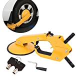 PanelTech Wheel Tire Parking Boot Lock Lawn Fit Most Car's Wheel Within 11.8'' Trailer Lock Anti Theft (1PC)