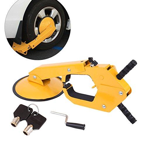 PanelTech Wheel Tire Parking Boot Lock Lawn Tractor ATV RV Trailer Lock Anti Theft (1PC)