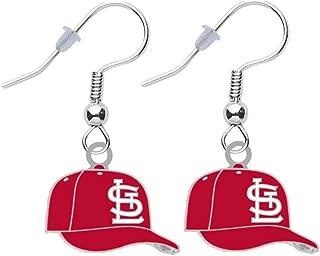 cardinal pierced earrings