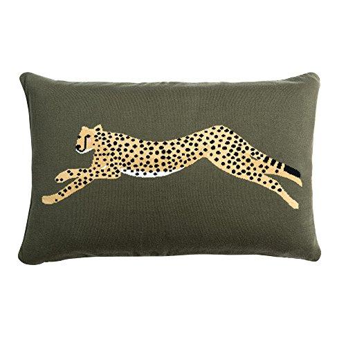 Sophie Allport Cheetah Knitted Statement Cushion