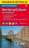MARCO POLO Freizeitkarte Hamburg, Lübeck und Umgebung 1:100.000 (MARCO POLO Freizeitkarten)