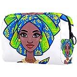 Neceser de Maquillaje para Mujer Bolso Organizador de Kit de Viaje cosmético,Figura Humana...