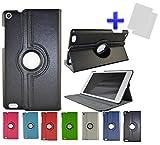 Funda para Tablet Bq Edison 3 Mini 8' color Negro + 2 Protectores de pantalla