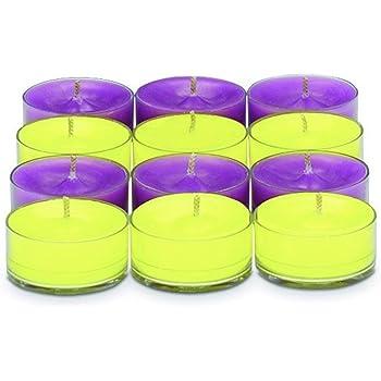 ---jaune fluo-violet PartyLite diffuseur 1a 6 bougies abracadabra herbstduft v06178