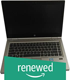 (Renewed) HP 8470 Intel Core i5 (3rd Gen) 14 inch Laptop (4GB RAM/320 GB HDD/Windows 10/2.2KG), Silver