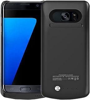 ae730377882 idealforce Samsung Galaxy S7 Edge Carcasa de batería, 5200 mAh externo  poder banco cargador portátil